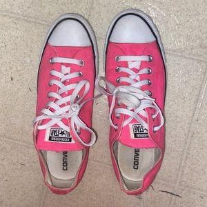 Neon Pink Converse